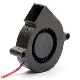 Ventilator radiaal 24V 50x50x15mm