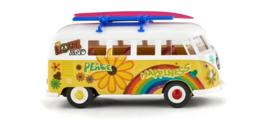 """079725 VW T1 Bus """"Flower Power"""""""