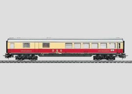4087 WRümh 132 van de Deutsche Schlafwagen- und Speisewagen-Gesellschaft (DSG)