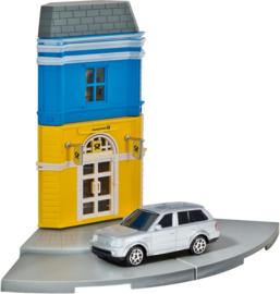 Herpa Postkantoor + Landrover Range Rover Sport