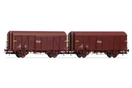 HR6431 NS 2x gesloten wagon VGL