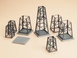 48640 Structurele elementen van staal conisch
