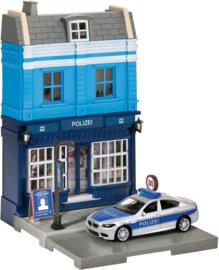 Herpa Politie Bureau + BMW M5