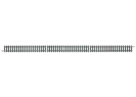 14902  Rechte rail 312,6 mm Zwart