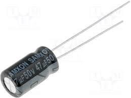 47u 50V radiaal
