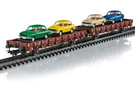 """46404 Set platte wagens """"DAF 66"""""""