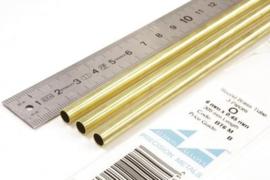 BT6M Pijp rond buiten 6mm dikte 0,45mm binnen 5,1mm lengte 30,5mm 3 stuks