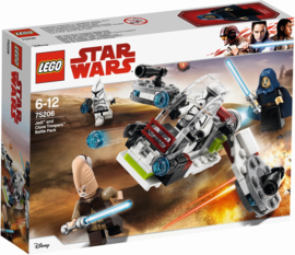 75206 Jedi en Clone Troopers Battle Pack