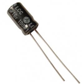 100u 16V radiaal