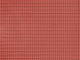 52425 Dakplaat pannen Roodbruin