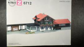 6712 Schweizer Bahnhof CHATEAU