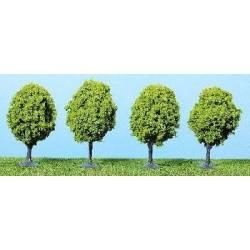 1031  4x laanbomen lichtgroen 6-7cm