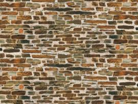 50515 Kalksteen muur