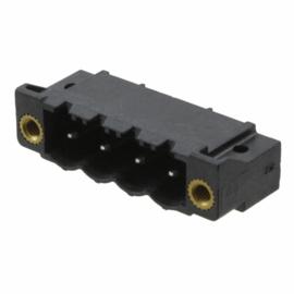 AK950/4 male schroefverbinding zwart