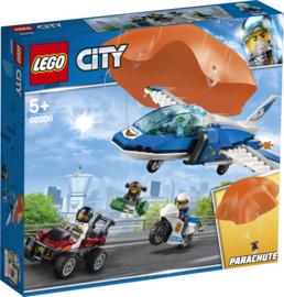 60208 Luchtpolitie Parachute Arrestatie