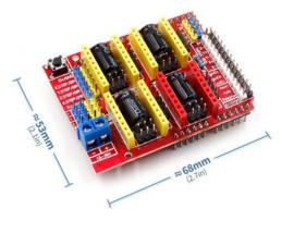 CNC voor Arduino - 3D printer/Grafeer