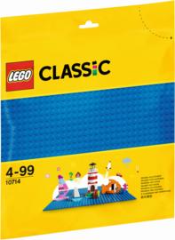 10714 Blauwe bouwplaat Lego