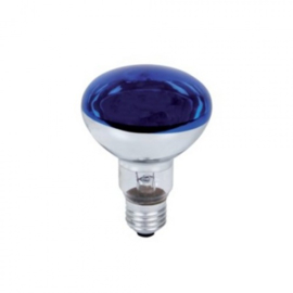 Discolamp R80 60W Blauw