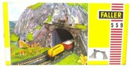 B559 Enkel/dubbel tunnelportaal