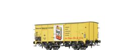 """49763 Spoor H0 Gesloten goederenwagen G10 """"Glänzer (Erdal)"""" van de DB, tijdperk III"""