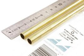 BT8M Pijp rond buiten 8mm dikte 0,45mm binnen 7,1mm lengte 30,5mm 2 stuks