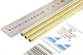 BT4M Pijp rond buiten 4mm dikte 0,45mm binnen 3,1mm lengte 30,5mm 3 stuks