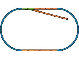 55366 Bedding voor starterset Track A+B