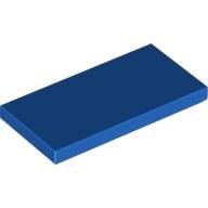 Tegel 2 x 4 Blauw