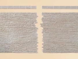 42649 Stenen muren met eindstenen