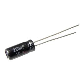 220u 10V radiaal