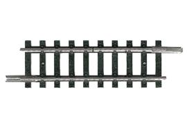 14989 Rechte rails 50 mm 1 railstaaf onderbroken
