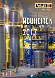 Faller Neuheiten 2017 Duits