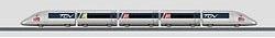 TGV - trein 29201  zonder rails