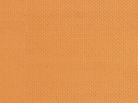 52413 Muurplaat geelbruin