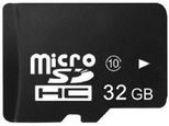32 GB Micro SHDC kaart + adapter class10