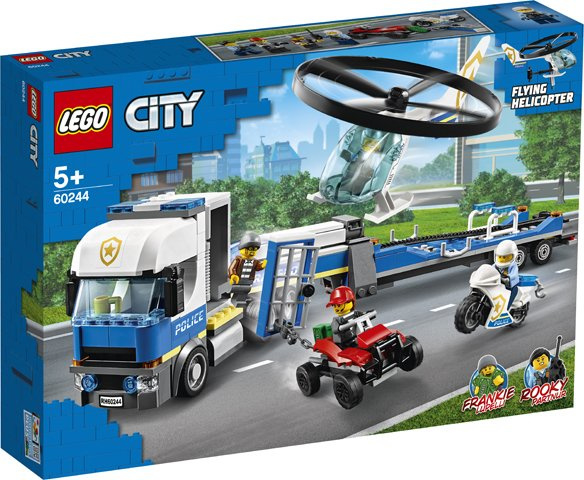 60244 Politie Helicopter Transport