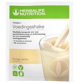 Formula 1 uitgebalanceerde maaltijd romige vanille 7 zakjes per doosje 26 gr per portie (053k)