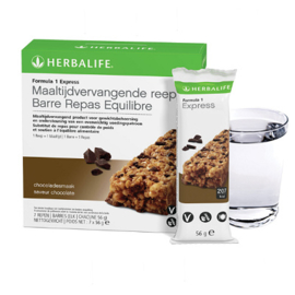 Formula1 express maaltijdvervangende reep chocoladesmaak