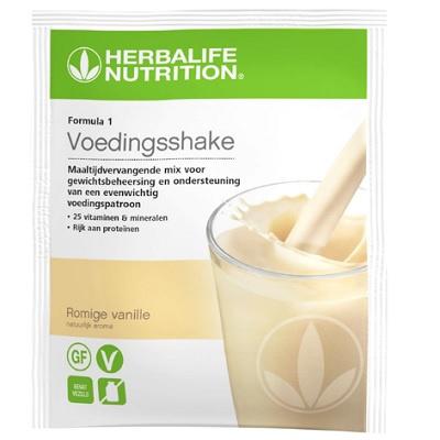 Formula 1 uitgebalanceerde maaltijd romige vanille 7 zakjes per doosje 26 gr per portie
