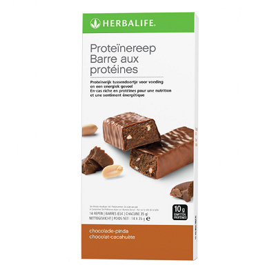 Proteïnereep 14 repen chocolade-pinda (3972)