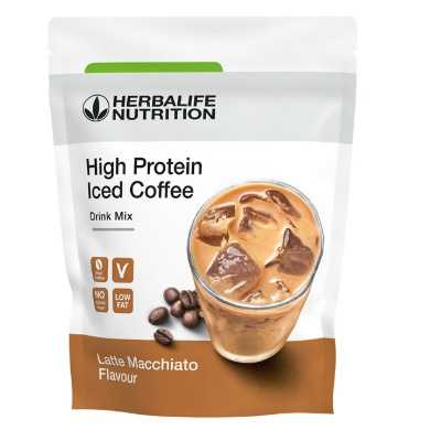 Herbalife High Protein Iced Coffee Latte Macchiato (012k)