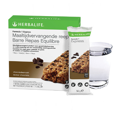 Formula1 express maaltijdvervangende reep 7 repen chocoladesmaak (2669)