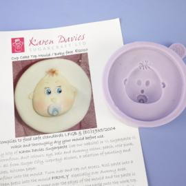 Karen Davies Baby Face Cupcake Top Mould