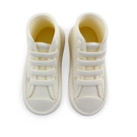 PME Edible Cake Topper High Cut Sneaker -White