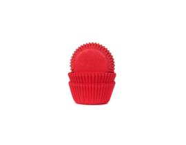 House of Marie Mini bakpapiertjes Red Velvet pk/60