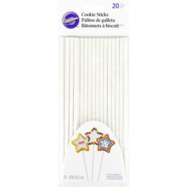 Wilton Cookie Treat Sticks 20cm, pk/20