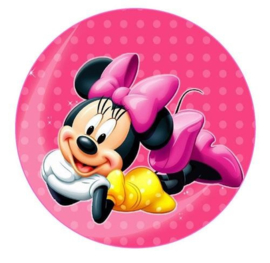 Minnie mouse rond 18cm