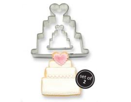 PME Koekjes Uitsteker taart - set/2