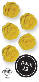 Yellow Roses (12/Pk)