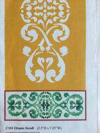 Ornate scroll